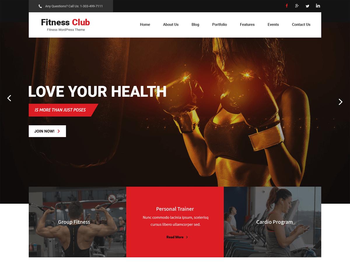 fitness club pro